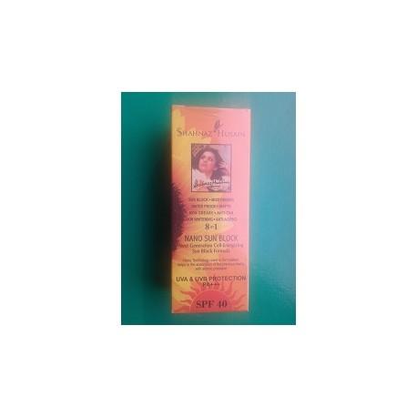 Лосьон для загара NANO SUN BLOCK SPF-40, 80 г